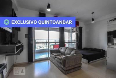 Studio No 20º Andar Mobiliado Com 1 Dormitório E 1 Garagem - Id: 892916624 - 216624