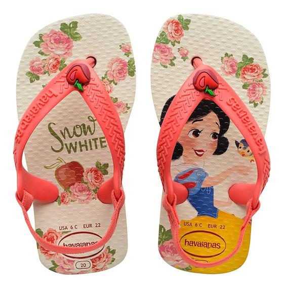 Chinelo Havaiana Baby Disney Princesas Branca De Neve 2020