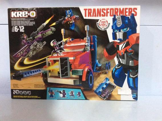 Transformers Kre-o Optimus Prime Caçador De Animaisref B0951