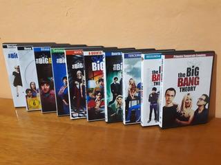 Dvd Coleção The Big Bang Theory As 12 Temporadas Frete Grati