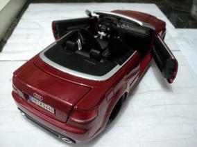 Miniatura Audi Rs4 1/18 Maisto Sucata Rebaixado