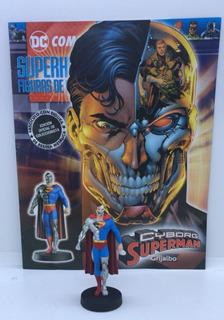 Figuras Dc Comics Nº 48 Cyborg
