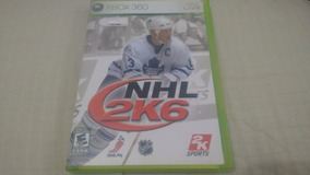 Nhl 2k6 - Xbox360 - Completo E Original