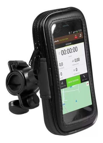 Soporte Celular Moto Bicicleta Resistente Agua iPhone Todos®