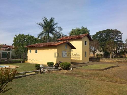 Chácara Com 3 Casas De 1 Dormitório, 900 M² Por R$ 650.000 - Village Campinas - Campinas/sp - Ch0452