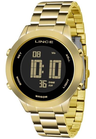 Relógio Feminino Digital Redondo Fashion 2019 Lince Sdph038
