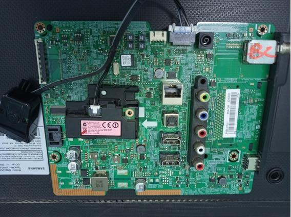 Placa Principal Samsung Un32j4300ag +botão Power+recept Wifi