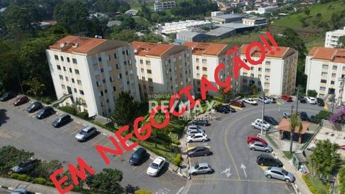 Apartamento Com 2 Dormitórios À Venda, 52 M² Por R$ 140.000,00 - Jardim Caiapia - Cotia/sp - Ap0131