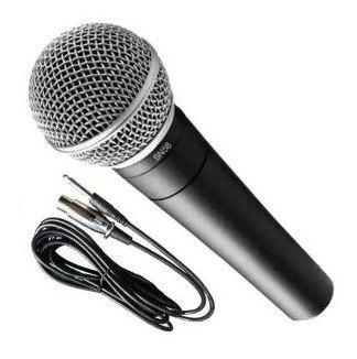 Micrófono Parquer 58 Dinámico Cardioide Voz Con Cable Cuota