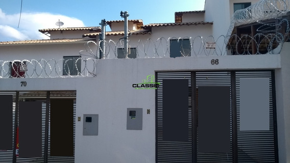 Casa Duplex Com 2 Quartos Para Comprar No Santa Mônica Em Belo Horizonte/mg - 3470