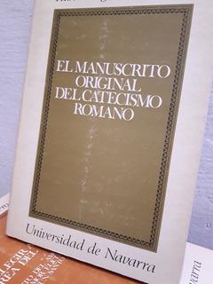 El Manuscrito Original Del Catecismo Romano