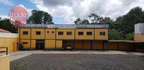 Galpão Para Alugar, 300 M² Por R$ 12.000,00/mês - Jardim Sumaré - Ribeirão Preto/sp - Ga0078