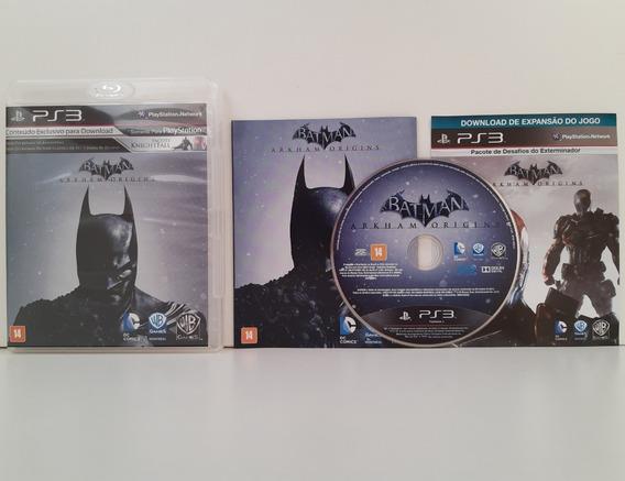 Batman Arkham Origins Ps3 Mídia Física Completo