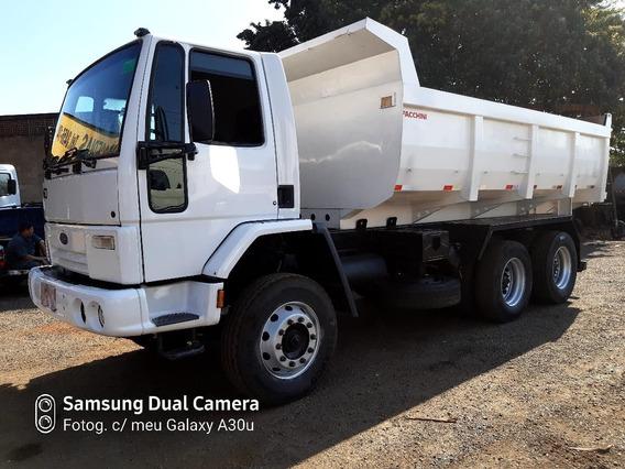 Caminhão Ford Cargo 2622 6x4 2009 C/ Caçamba Facchini 2010