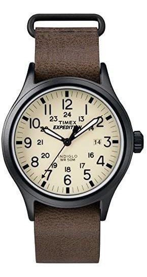 Reloj Expedition Timex Original Importado De Piel (-40% Off)