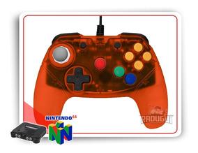 Controle Nintendo 64 Brawler64 Gamepad N64 Retro Fighters