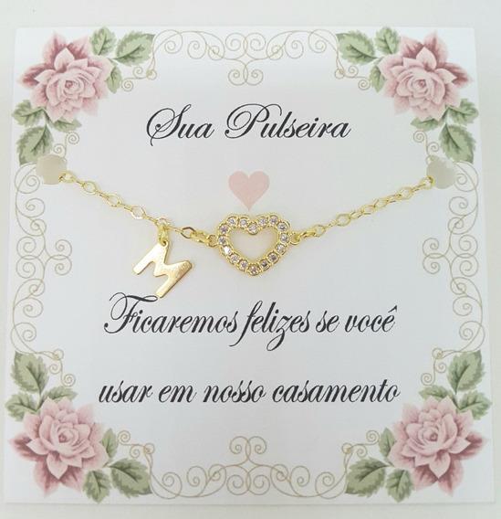 Kit 35 Pulseiras Para Madrinhas De Casamento