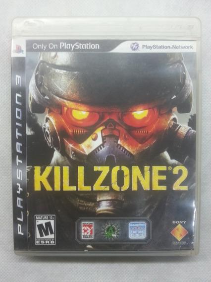 Jogo Ps3 Midia Fisica Usado Original Killzone 2