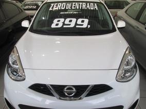 Nissan March S Completo Zero De Entrada + 60 X 899,00 Fixas