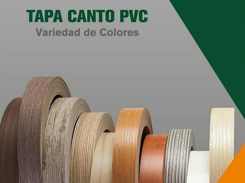 Tapa Canto Blanco Alto Brillo Pvc 23mmx 1mm Super Formica