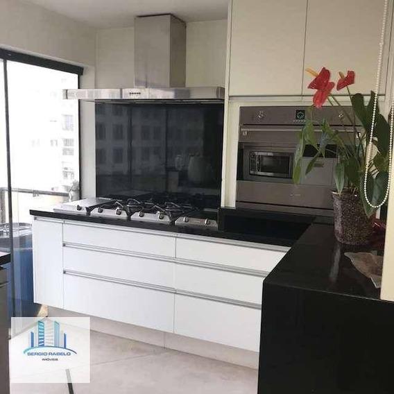 Cobertura Com 3 Dormitórios À Venda, 204 M² Por R$ 3.200.000 - Jardins - São Paulo/sp - Co0104
