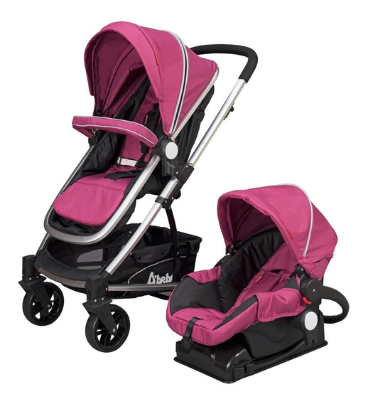 Carriola De Bebe Crown Portabebe Bambineto Base Carro