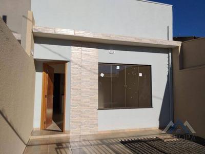 Casa Com 2 Dormitórios Para Alugar, 70 M² Por R$ 850/mês - Residencial Portal Do Sol - Londrina/pr - Ca0568