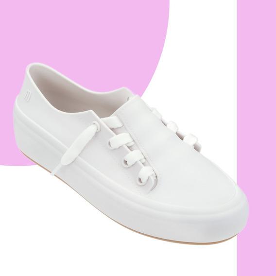 Melissa Ulitsa Sneaker Tênis Preto Branco Rosa Verde + Nf