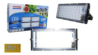 Reflector Led 50w Ip65 Industrial Exterior Megaluz Brillante