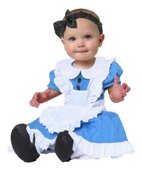 Disfraz Para Bebes Niña Alicia Traje Alicia Pais Maravillas