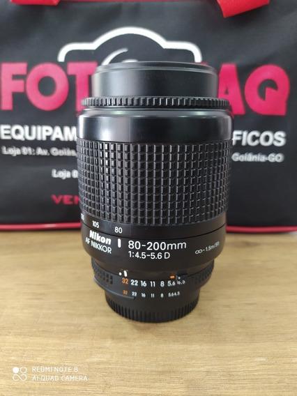 Lente 80-200mm Nikon F/4.5-5.6 D