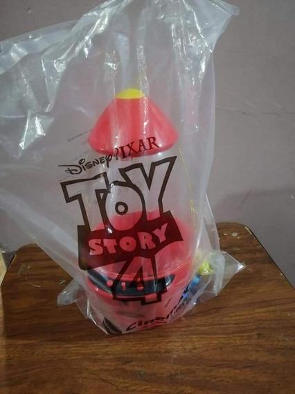 Cohete Toy Story 4 De Cinemex Nuevo En Su Empaque Sellado!!!
