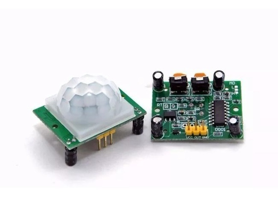 Modulo Pir Sensor Movimento, Para Arduino, Pc E Raspberry