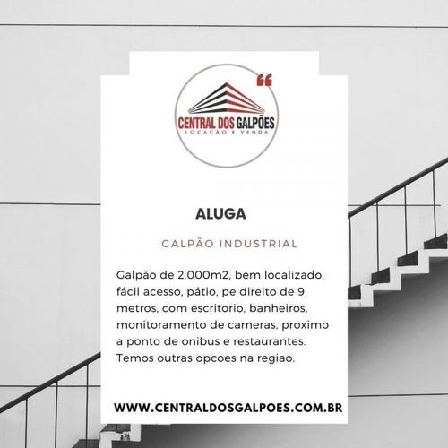 Galpão Para Locação Em São José Dos Pinhais - Cdg09_2-1163293