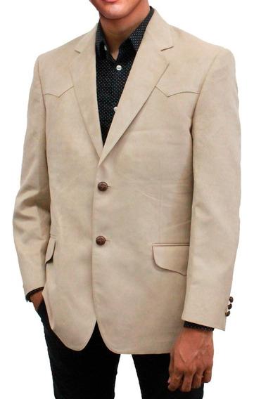 Saco Vaquero Para Hombre Tipo Gamuza Elegante 590 Rio Grande