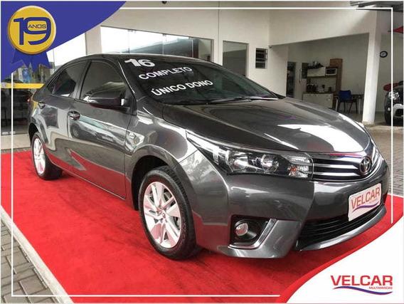 Toyota Corolla 1.8 Gli Upper 16v Flex 4p Automático 20