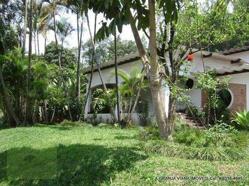 Casa À Venda, 400 M² Por R$ 2.000.000,00 - Palos Verdes - Cotia/sp - Ca0137