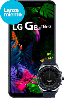 Vendo Lg G8s + Lg Watch W7 Caja!garantía! Impecable!!!