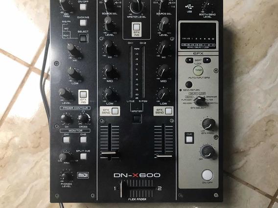 Mixer Denon Dn-x600 (funciona Com Traktor)