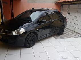 Nissan Tiida 1.8 Flex Manual 4p Modelo 2011 Sedan Preto Novo