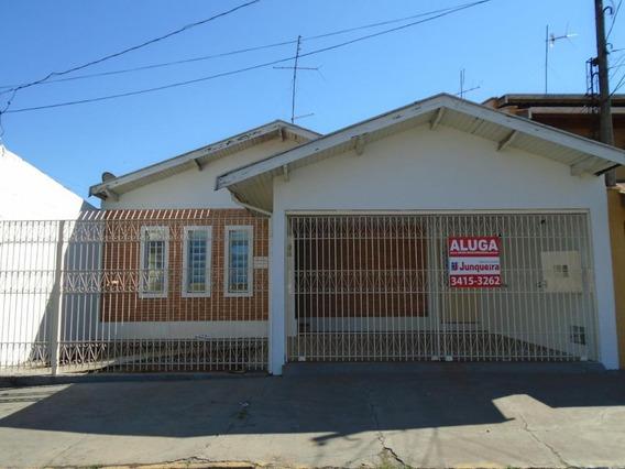 Casa Com 3 Dormitórios Para Alugar, 150 M² Por R$ 1.500/mês - Santa Terezinha - Piracicaba/sp - Ca3192