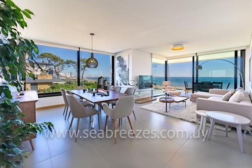 Sea Breezes - Punta Del Este - 3 Dormitorios - Excelente Ubicación Y Servicios - Ref: 269