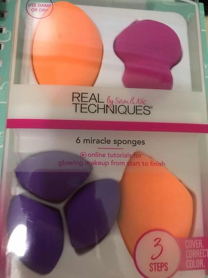 Esponjas Real Techniques Set 6 Miracle Sponges