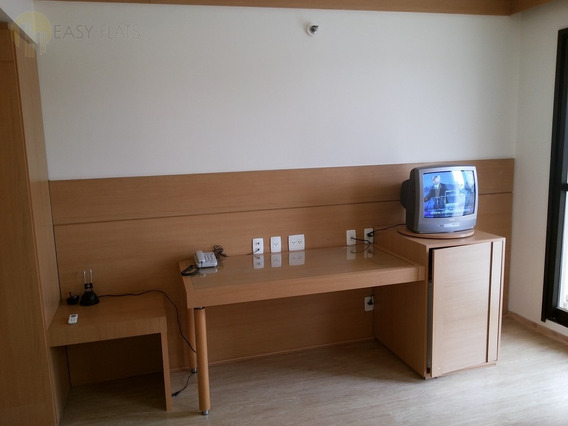 Flat Para Aluguel, 1 Dormitórios, Pinheiros - São Paulo - 552