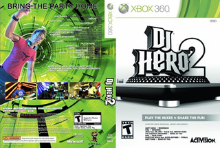 Xbox 360 Dj Hero 2 Usado
