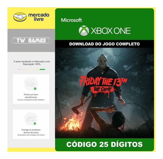 Friday The 13th: The Game Codigo 25 Digitos Xbox One
