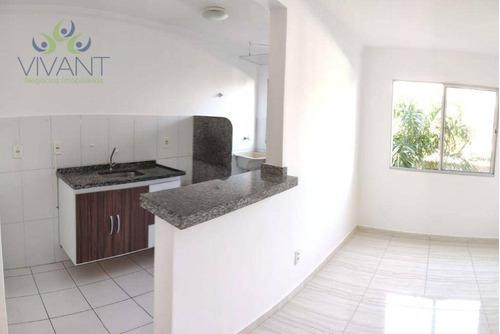 Apartamento Em Vila Urupês, Suzano/sp De 48m² 2 Quartos À Venda Por R$ 175.000,00 - Ap1019264