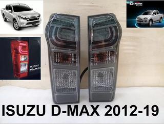 Focos Traseros Ahumados Chevrolet D-max (12-19)