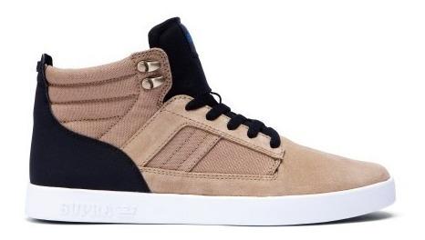 Supra Footwear - Bandit 27.5mx / Khaki White / Tenis Skate