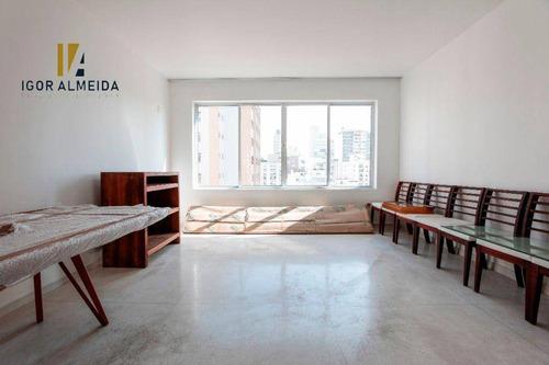 Apartamento Com 3 Dormitórios À Venda, 140 M² Por R$ 1.350.000,00 - Higienópolis - São Paulo/sp - Ap11794
